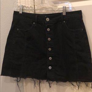 American eagle black skirt